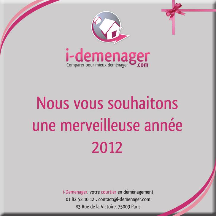 Voeux i-Demenager 2012