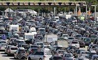 Départ vacance, déménagement, interdiction circulation, embouteillage