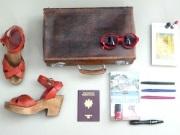 Valise, papiers, déménagement, formule transport